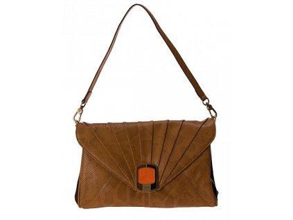 hnědá kabelka - psaníčko VENICE FH 7100, Fiorelli