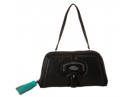 černá kabelka - psaníčko CANNES FH 6960, Fiorelli