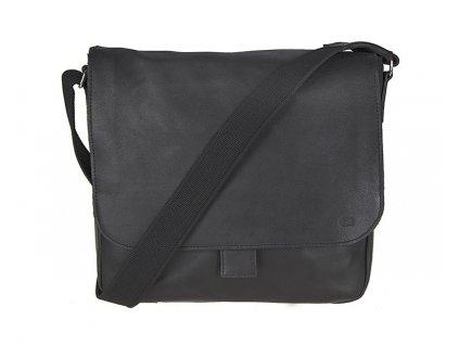 černá kožená taška JAZZY SMASH 13, DAAG