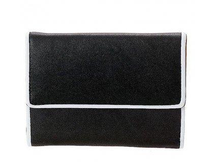 Černá peněženka ART přední pohled