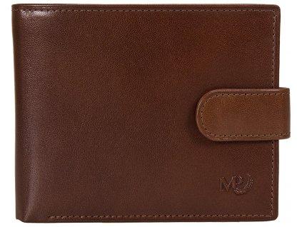 pánská hnědá - koňak peněženka B120218, MARTA PONTI