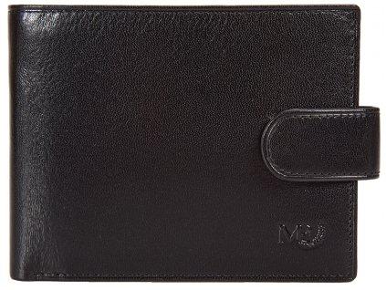 Luxusní pánská kožená peněženka MARTA PONTI Johan - černá