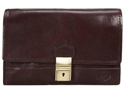 Luxusní pánská kožená etue MARTA PONTI Lincoln - tmavě hnědá