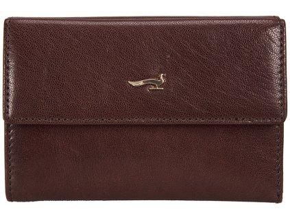 Dámská kožená peněženka MARTA PONTI Maria - hnědá