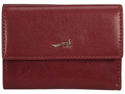 červená kožená peněženka B33PO24, MARTA PONTI