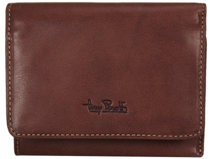 Tony Perotti - luxusní kožená peněženkakaštanově hnědé barvy