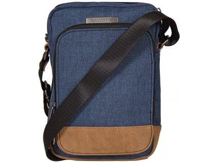 modrá taška přes rameno 258010, DAVIDTS