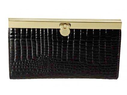 dámská černá kožená peněženka J-11-019-045, Jacky&Celine