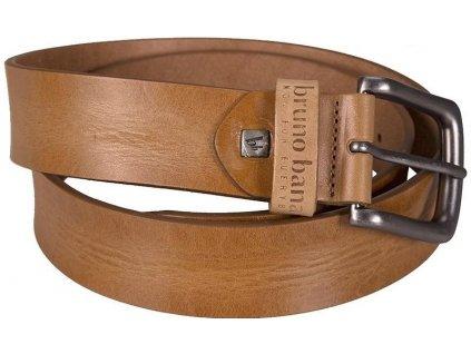 laciný Bruno Banani pánský béžový kožený pásek 30004 velkoobchodní ceny