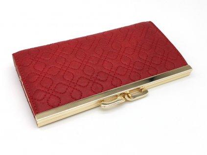 Dámská červená peněženka MONA, S.FIORENTINO
