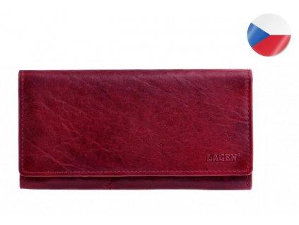 červená peněženka lagen