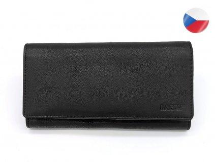 Dámská kožená peněženka LAGEN Mila - černá