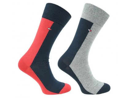Značkové ponožky 2 páry No. 085, TOMMY HILFIGER