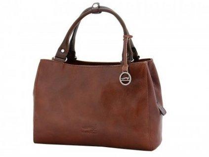 Vysoce luxusní dámská hnědá kabelka Arizona 8106009-Ru, Marta Ponti