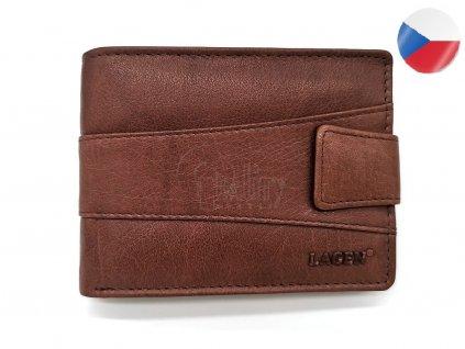 Pánská peněženka LAGEN Bruno - hnědá