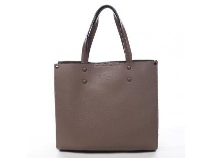 Tmavě béžová dámská kabelka Prisca, PIERRE CARDIN