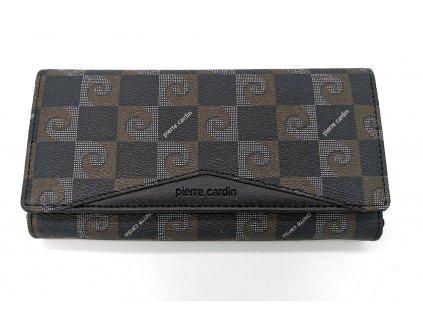 Dámská peněženka PIERRE CARDIN, Stellar - černá/hnědá
