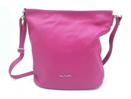 Dámská kožená kabelka PIERRE CARDIN, Cardano - růžová