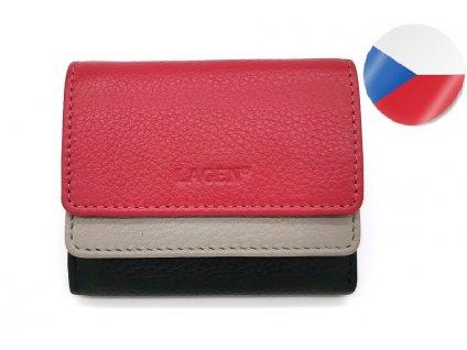 Dámská kožená peněženka LAGEN Sandra - barevná