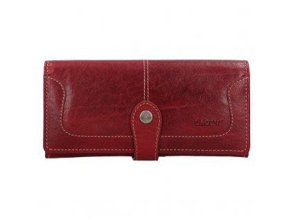 Dámská kožená peněženka LAGEN Berta - červená
