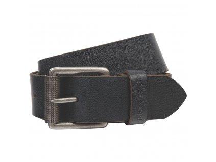 Pánský kožený pásek PIERRE CARDIN Andre - černý/hnědý