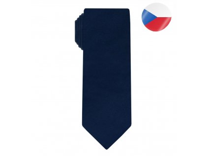 panska hedvabna kravata line tmave modra (6)