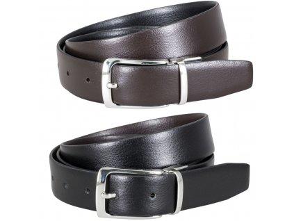 pánský oboustranný kožený pásek Didieur (2)