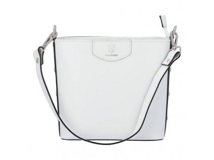 kožená kabelka bílá Elina (2)