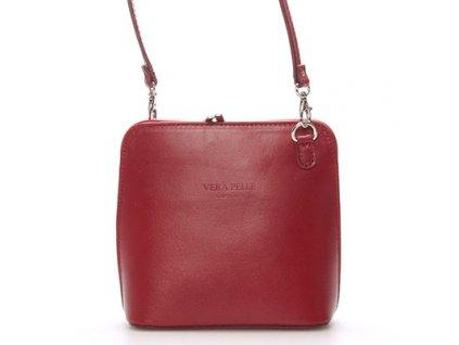 červená crossbody kabelka Lenka (2)