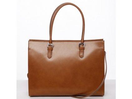 luxusní dámská kožená kabelka Emma (1)