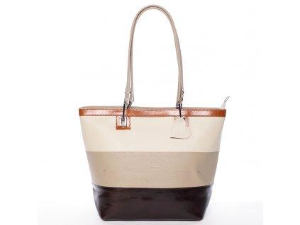 elegantní dámská kožená kabelka Laura (2)