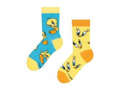 dětské veselé ponožky Rozkošný tweety