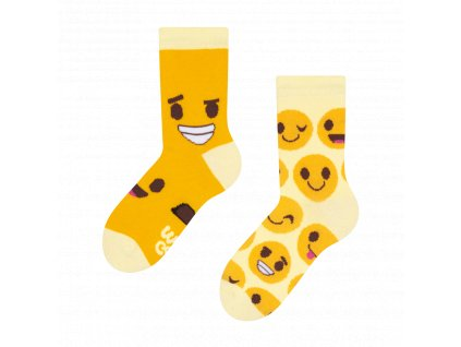 dětské veselé ponožky dedoles smajlíky (1)
