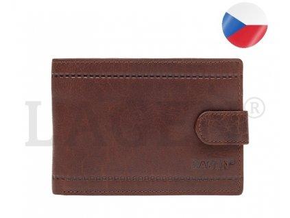 pánská kožená peněženka hnědá (1) kopie