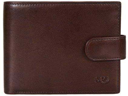 Luxusní kožená peněženka MARTA PONTI Concord - tmavě hnědá