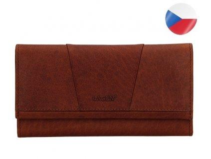 Kalisto hnědá kožená peněženka (2)