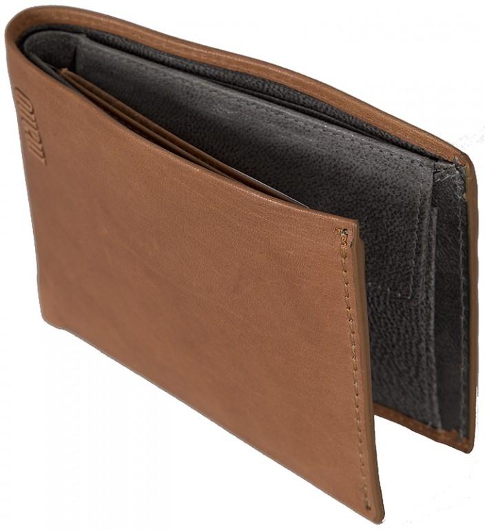 pánská hnědá koňak kožená peněženka MANO 20301 7dbbf651cd