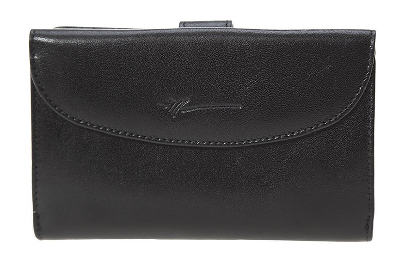 dámská černá kožená peněženka D-431, Dragon
