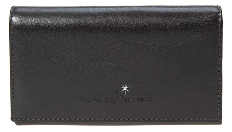 dámská černá kožená peněženka D-1, Franco Bellucci,