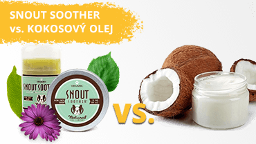 Snout Soother vs. kokosový olej