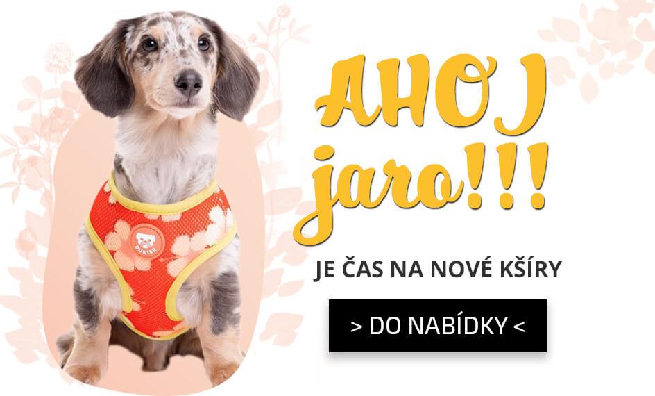 kšíry a postroje pro psy Jaro 2021