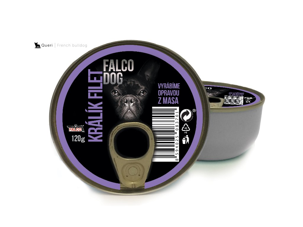 vyr 2000FALCO DOG kralik filet