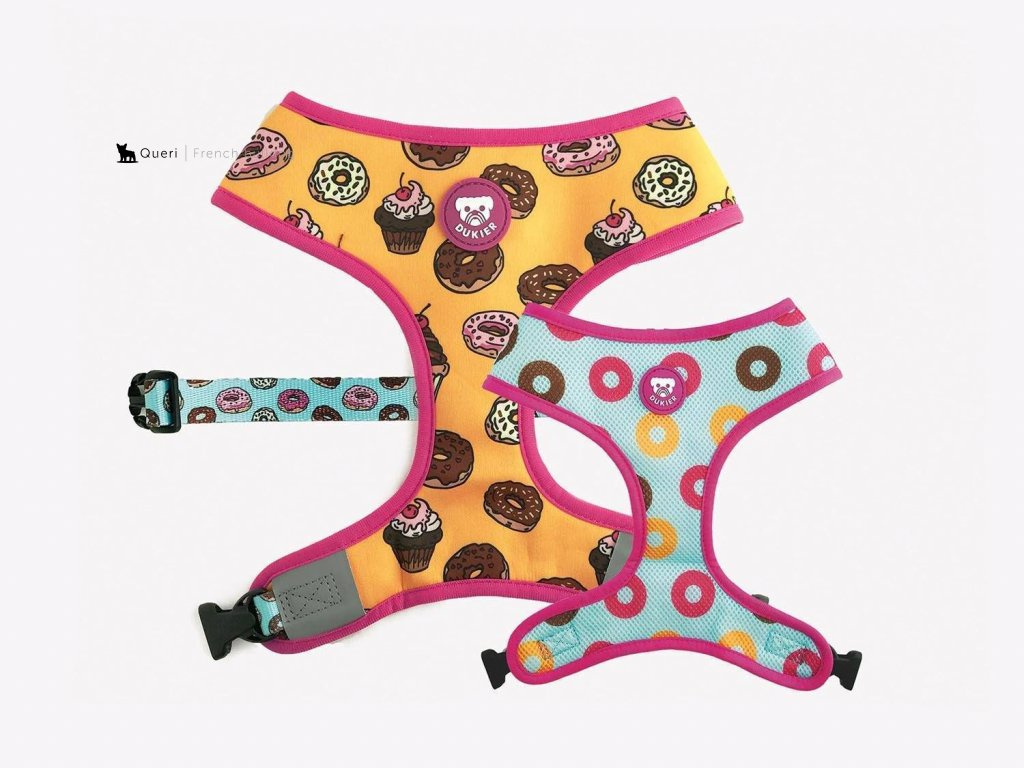 reversible cupcakes harness for dogs 815187 1500x