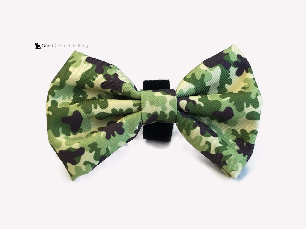 camo bow tie for dog 526190 2000x