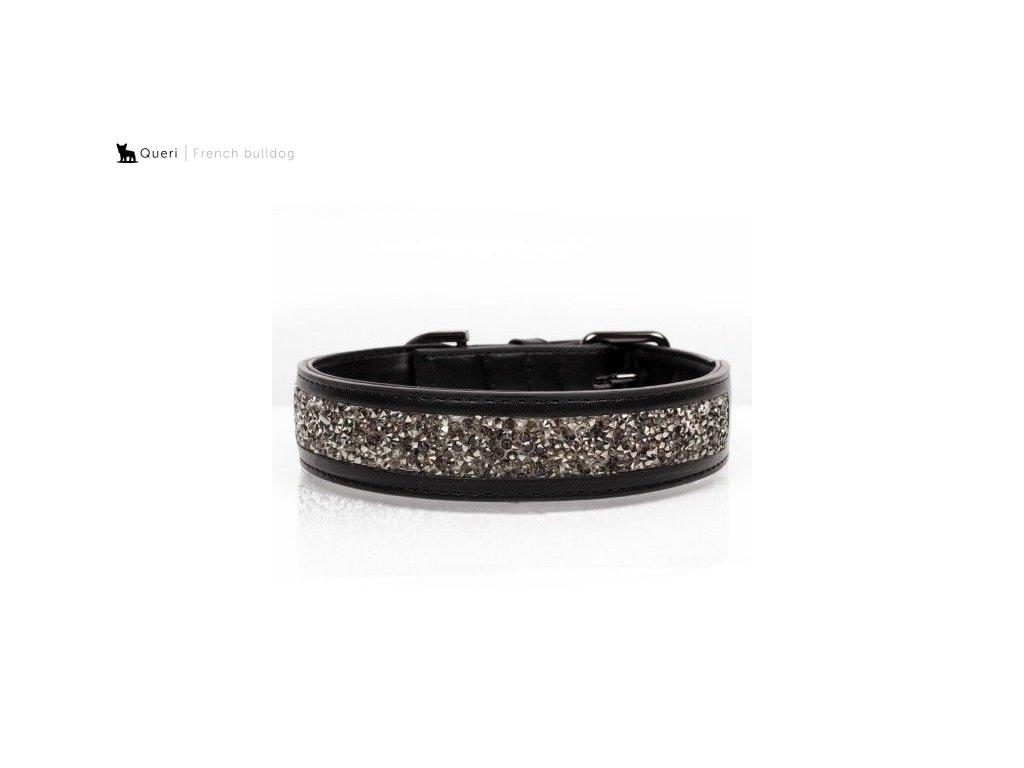 collier quartz noir