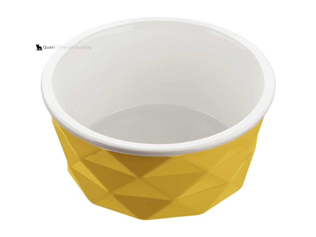 Keramická miska Eiby 1.100ml - žlutá