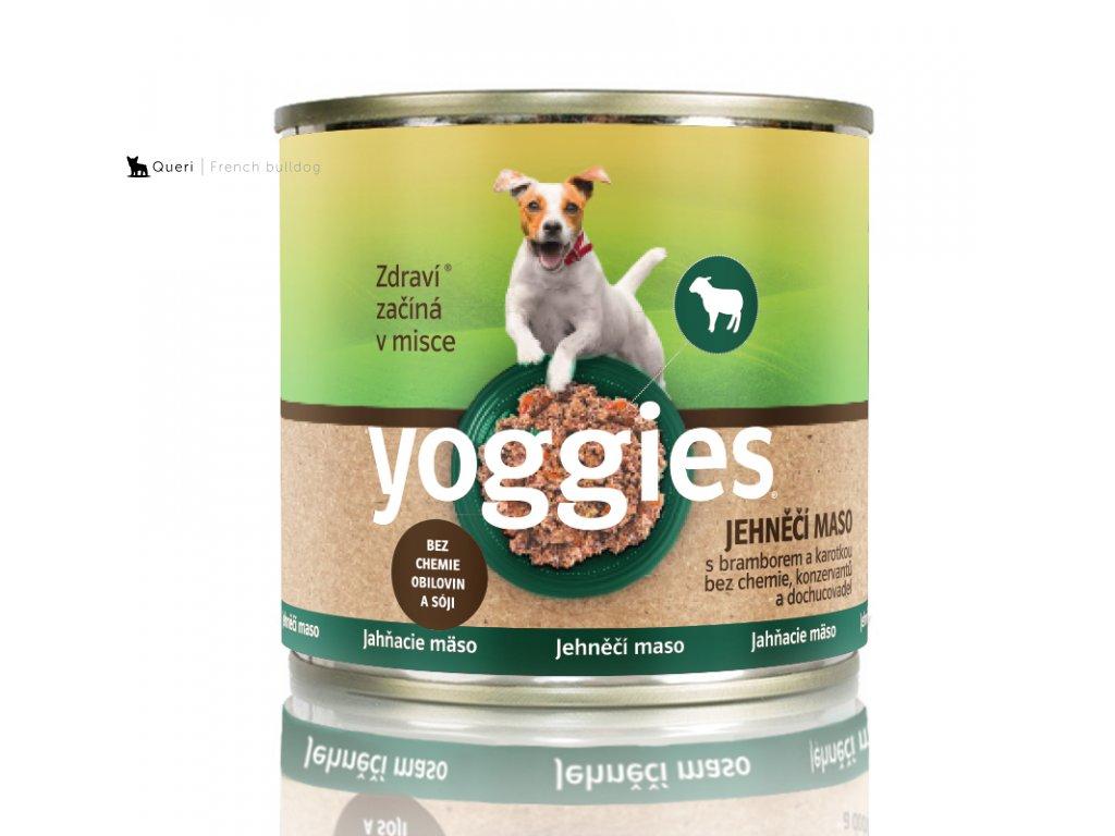 200g yoggies jehneci konzerva s bramborem a karotkou