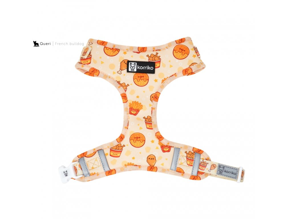 chickenwaffles adjustable harness front 2000x