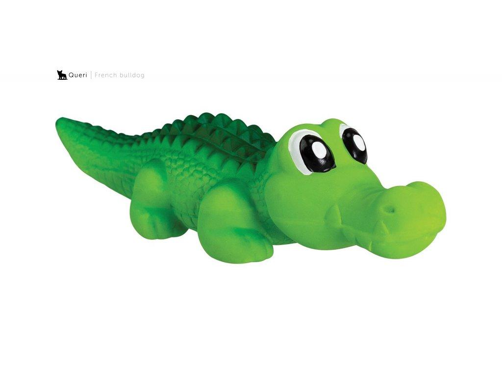 Krokodýl se zvukem 21cm, latex, Hiphop
