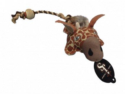 Hračka HUHU Zvířátko žirafa